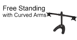 Free Standing with Curved Arms